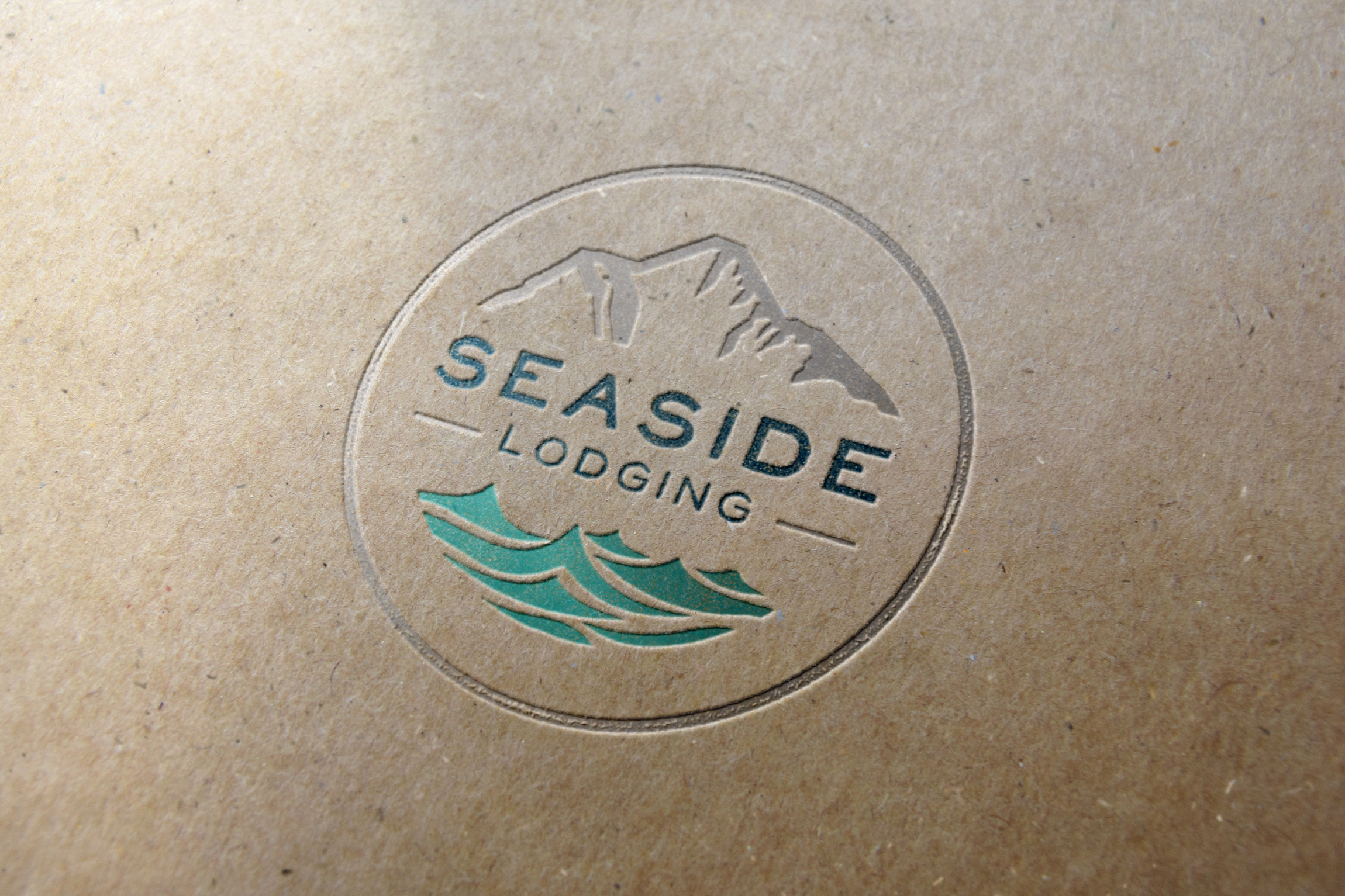 Seaside Lodging Identity